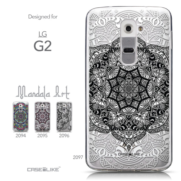 Collection - CASEiLIKE LG G2 back cover Mandala Art 2097