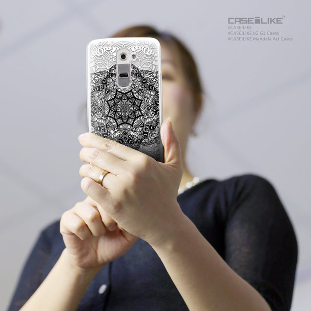 Share - CASEiLIKE LG G2 back cover Mandala Art 2097