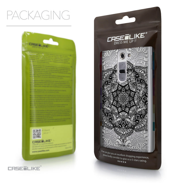 Packaging - CASEiLIKE LG G2 back cover Mandala Art 2097