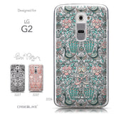 Collection - CASEiLIKE LG G2 back cover Roses Ornamental Skulls Peacocks 2226