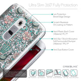 Details in English - CASEiLIKE LG G2 back cover Roses Ornamental Skulls Peacocks 2226