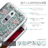 Details in Japanese - CASEiLIKE LG G2 back cover Roses Ornamental Skulls Peacocks 2226