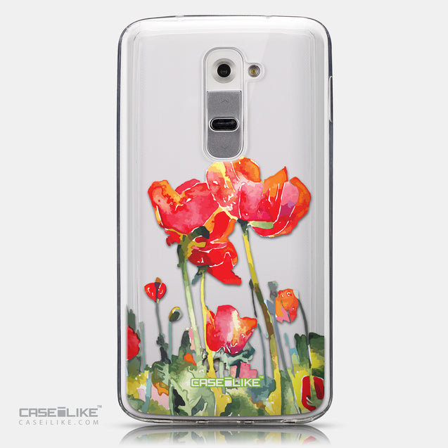 CASEiLIKE LG G2 back cover Watercolor Floral 2230