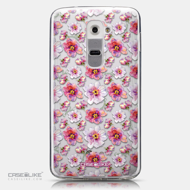 CASEiLIKE LG G2 back cover Watercolor Floral 2232