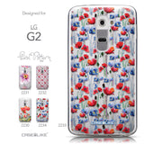 Collection - CASEiLIKE LG G2 back cover Watercolor Floral 2233