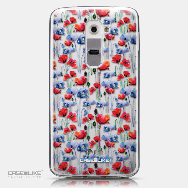 CASEiLIKE LG G2 back cover Watercolor Floral 2233