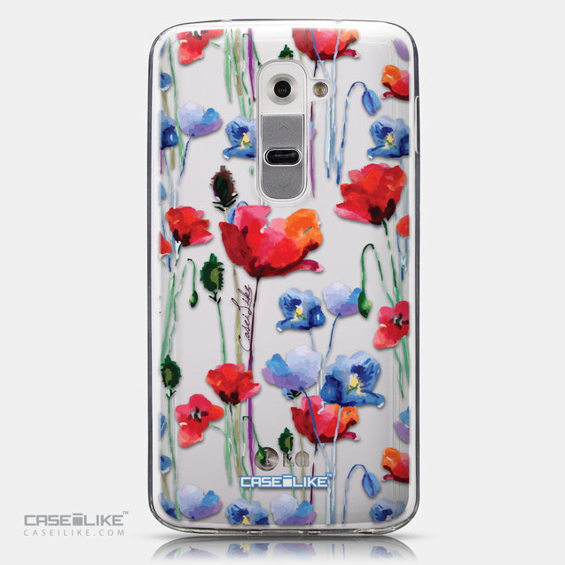 CASEiLIKE LG G2 back cover Watercolor Floral 2234