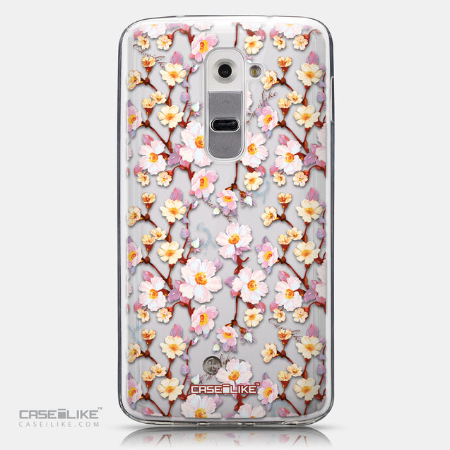 CASEiLIKE LG G2 back cover Watercolor Floral 2236