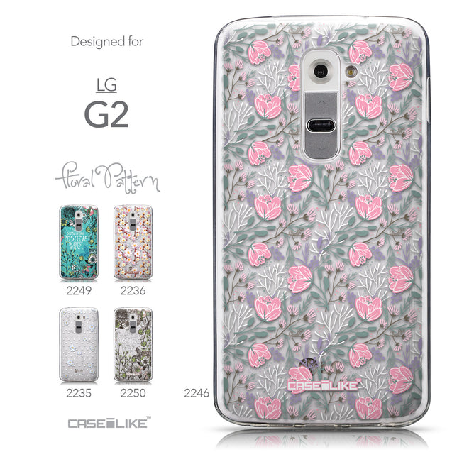 Collection - CASEiLIKE LG G2 back cover Flowers Herbs 2246