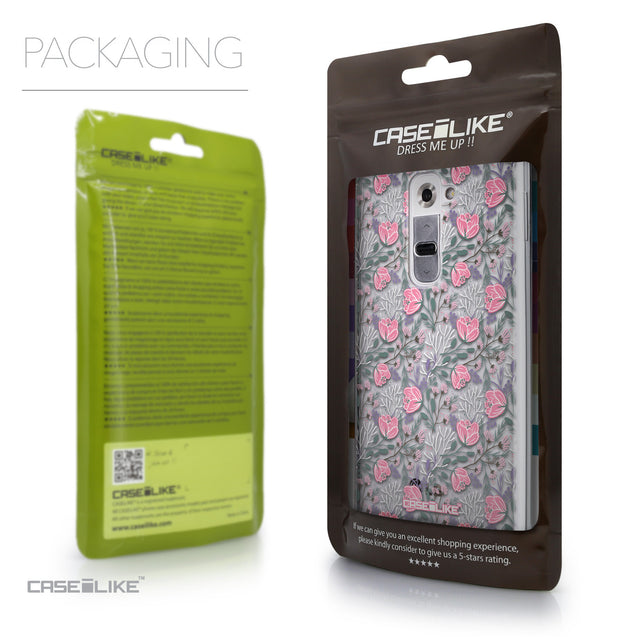 Packaging - CASEiLIKE LG G2 back cover Flowers Herbs 2246