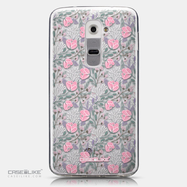 CASEiLIKE LG G2 back cover Flowers Herbs 2246
