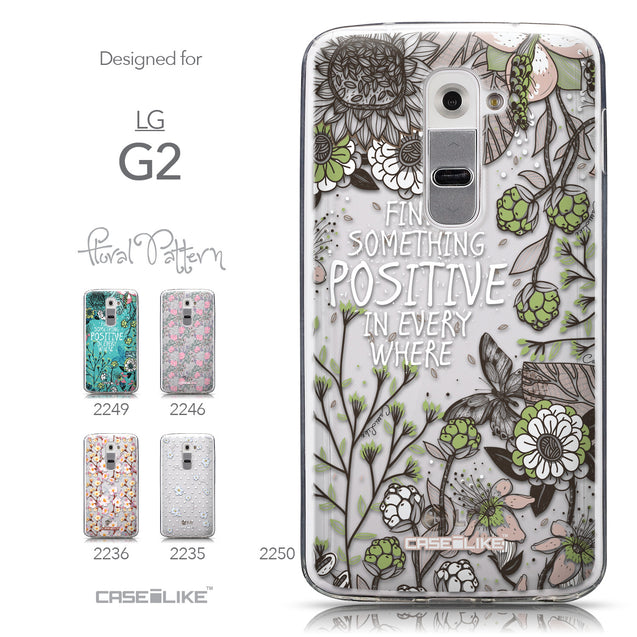 Collection - CASEiLIKE LG G2 back cover Blooming Flowers 2250