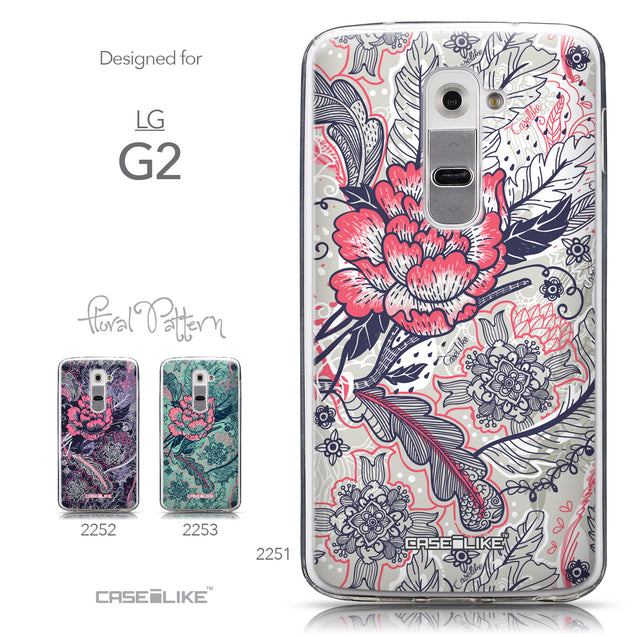 Collection - CASEiLIKE LG G2 back cover Vintage Roses and Feathers Beige 2251