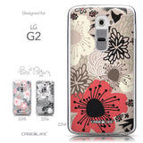 Collection - CASEiLIKE LG G2 back cover Japanese Floral 2254