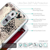 Details in English - CASEiLIKE LG G2 back cover Japanese Floral 2254