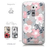 Collection - CASEiLIKE LG G2 back cover Japanese Floral 2255
