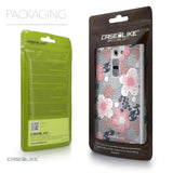 Packaging - CASEiLIKE LG G2 back cover Japanese Floral 2255