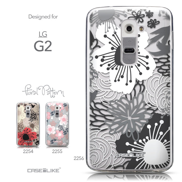 Collection - CASEiLIKE LG G2 back cover Japanese Floral 2256