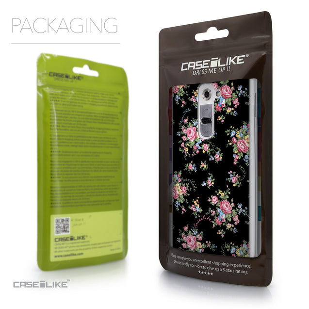 Packaging - CASEiLIKE LG G2 back cover Floral Rose Classic 2261