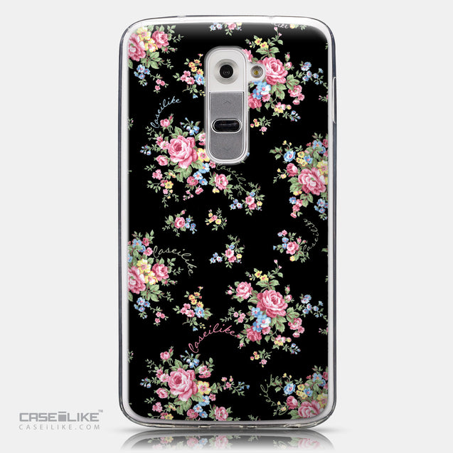 CASEiLIKE LG G2 back cover Floral Rose Classic 2261