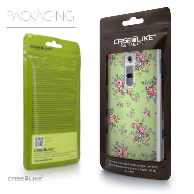 Packaging - CASEiLIKE LG G2 back cover Floral Rose Classic 2262