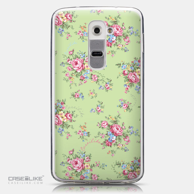 CASEiLIKE LG G2 back cover Floral Rose Classic 2262