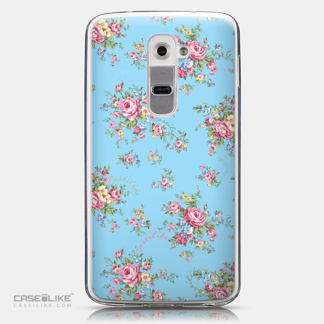 CASEiLIKE LG G2 back cover Floral Rose Classic 2263