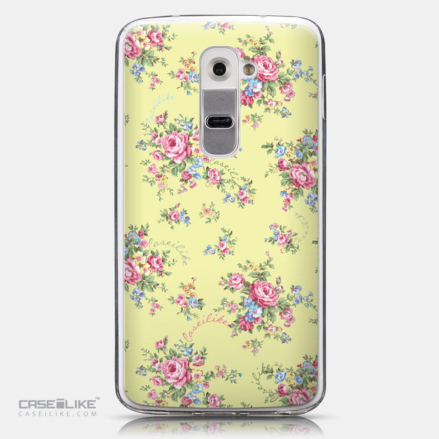 CASEiLIKE LG G2 back cover Floral Rose Classic 2264