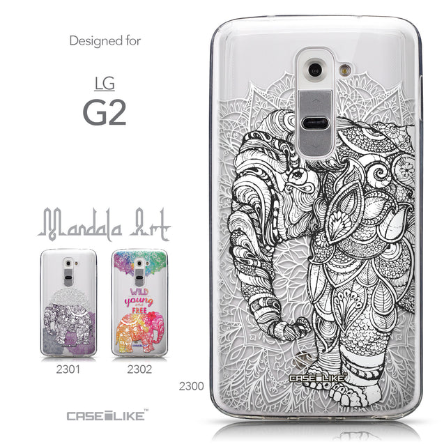 Collection - CASEiLIKE LG G2 back cover Mandala Art 2300