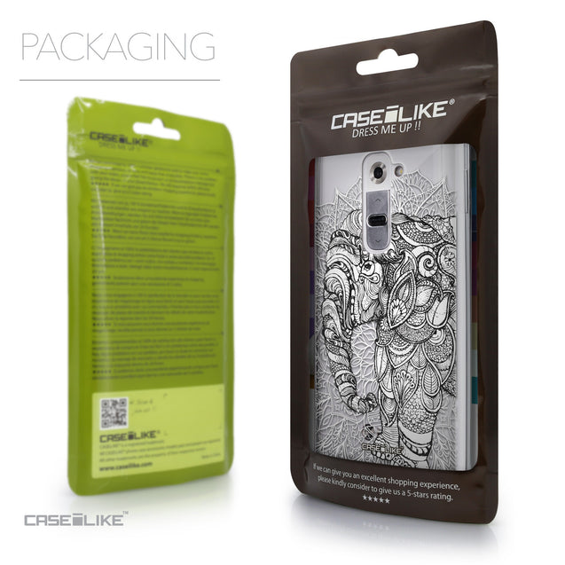Packaging - CASEiLIKE LG G2 back cover Mandala Art 2300