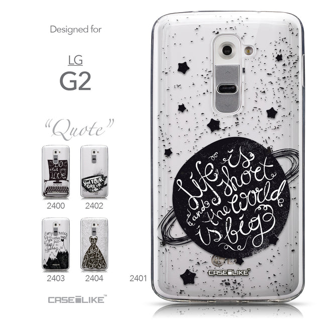 Collection - CASEiLIKE LG G2 back cover Quote 2401