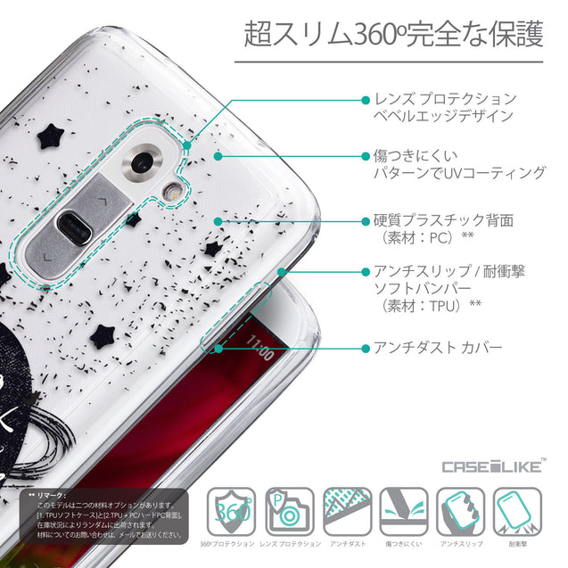Details in Japanese - CASEiLIKE LG G2 back cover Quote 2401