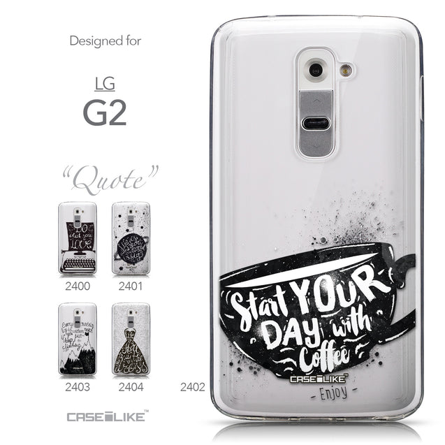 Collection - CASEiLIKE LG G2 back cover Quote 2402