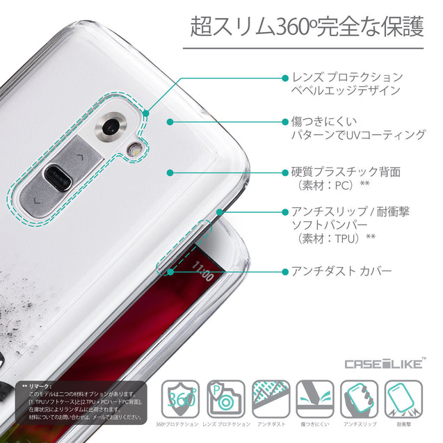 Details in Japanese - CASEiLIKE LG G2 back cover Quote 2402