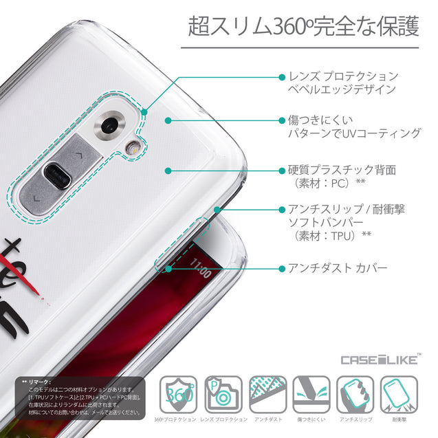 Details in Japanese - CASEiLIKE LG G2 back cover Quote 2406