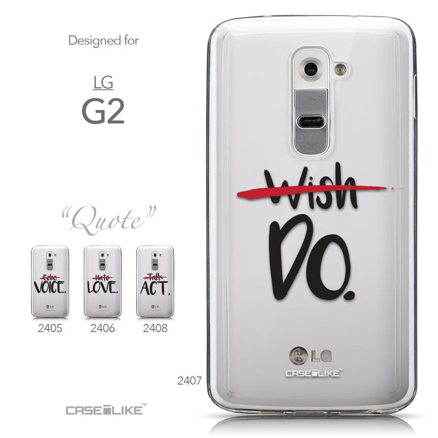Collection - CASEiLIKE LG G2 back cover Quote 2407