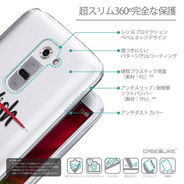 Details in Japanese - CASEiLIKE LG G2 back cover Quote 2407