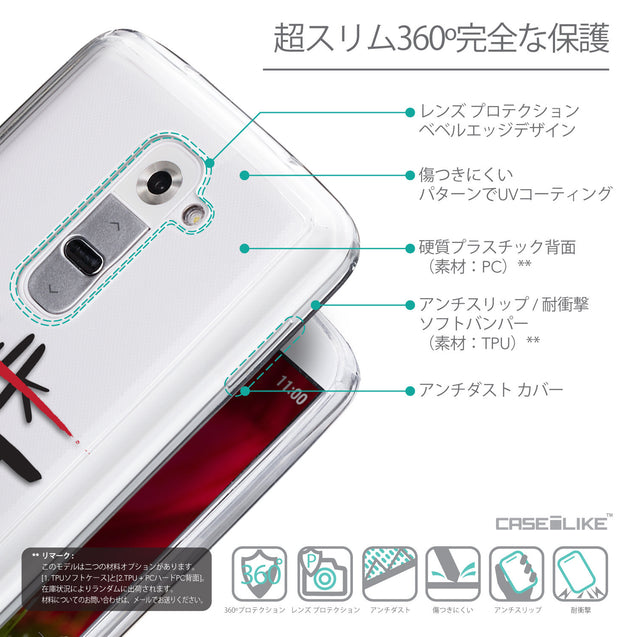 Details in Japanese - CASEiLIKE LG G2 back cover Quote 2408