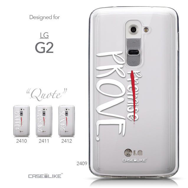 Collection - CASEiLIKE LG G2 back cover Quote 2409