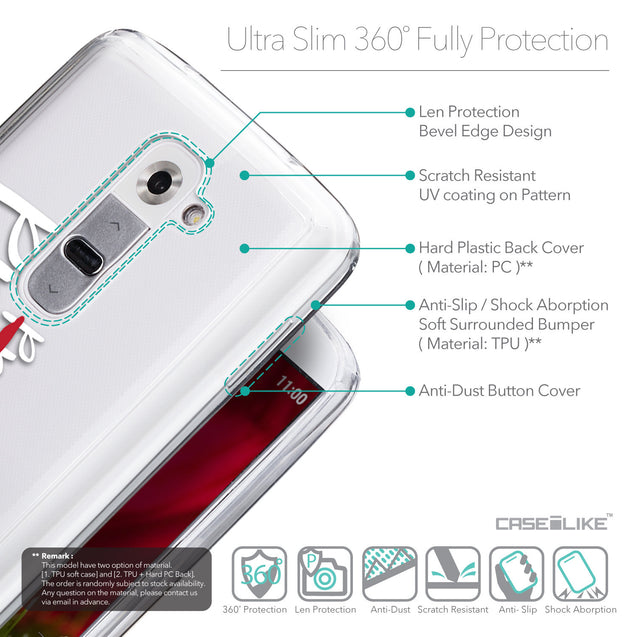Details in English - CASEiLIKE LG G2 back cover Quote 2409