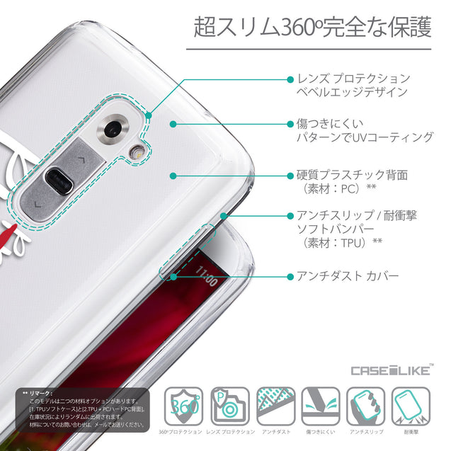Details in Japanese - CASEiLIKE LG G2 back cover Quote 2409