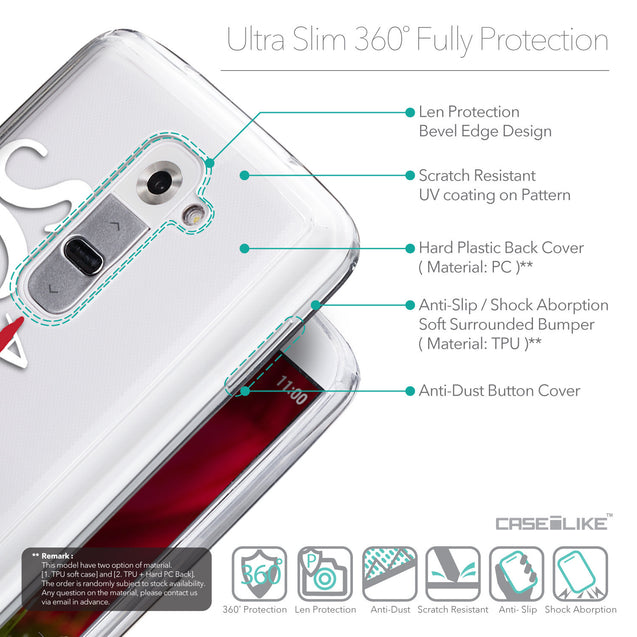 Details in English - CASEiLIKE LG G2 back cover Quote 2412