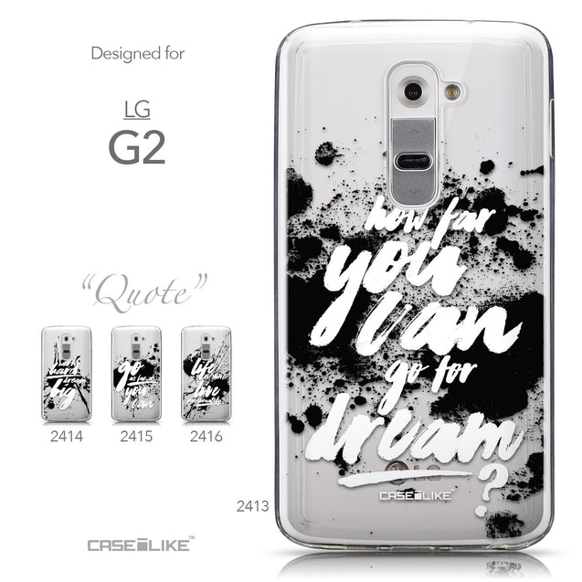 Collection - CASEiLIKE LG G2 back cover Quote 2413