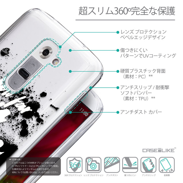 Details in Japanese - CASEiLIKE LG G2 back cover Quote 2413
