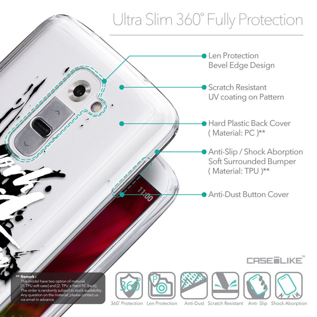 Details in English - CASEiLIKE LG G2 back cover Quote 2414