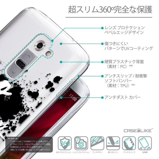 Details in Japanese - CASEiLIKE LG G2 back cover Quote 2415