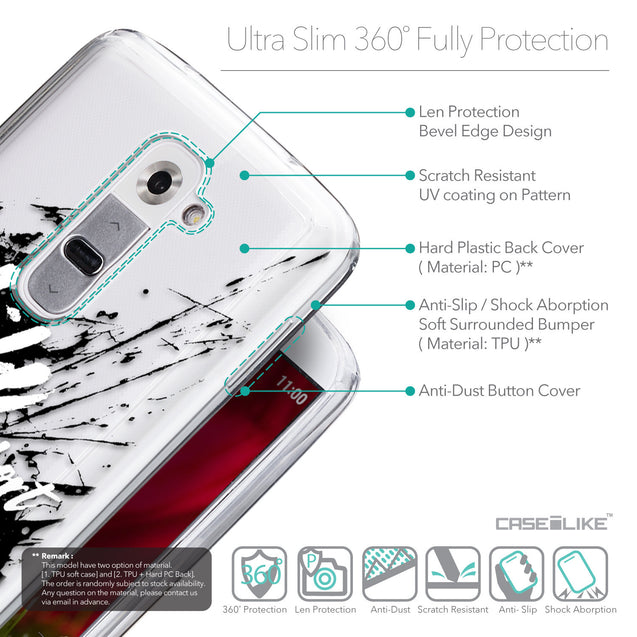 Details in English - CASEiLIKE LG G2 back cover Quote 2416