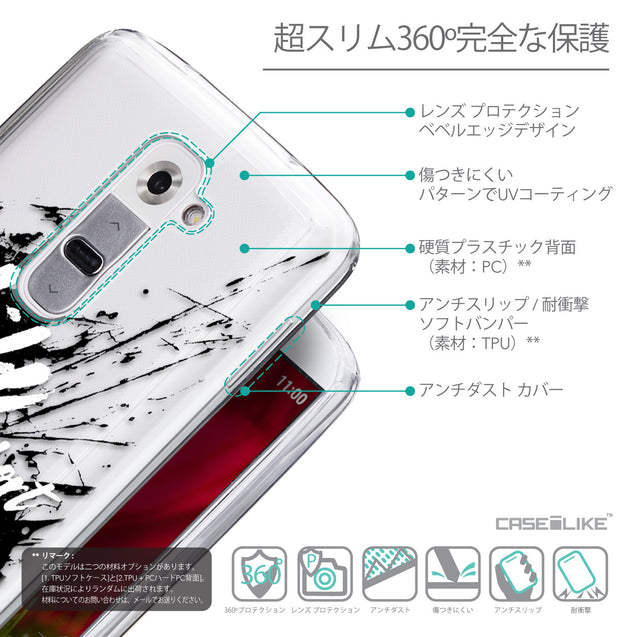 Details in Japanese - CASEiLIKE LG G2 back cover Quote 2416