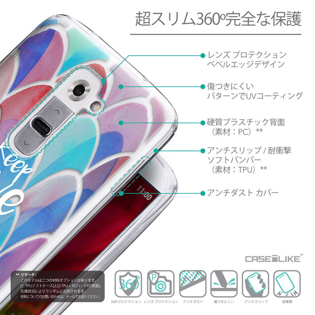 Details in Japanese - CASEiLIKE LG G2 back cover Quote 2417