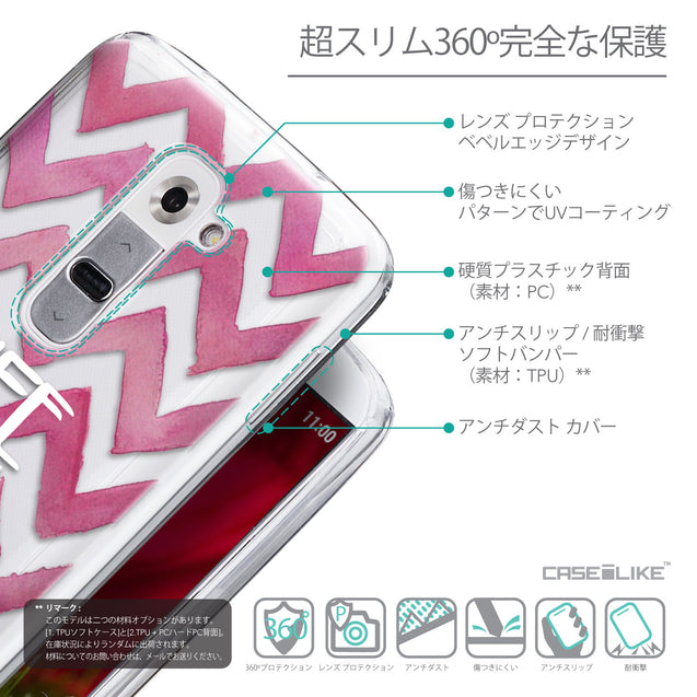 Details in Japanese - CASEiLIKE LG G2 back cover Quote 2419